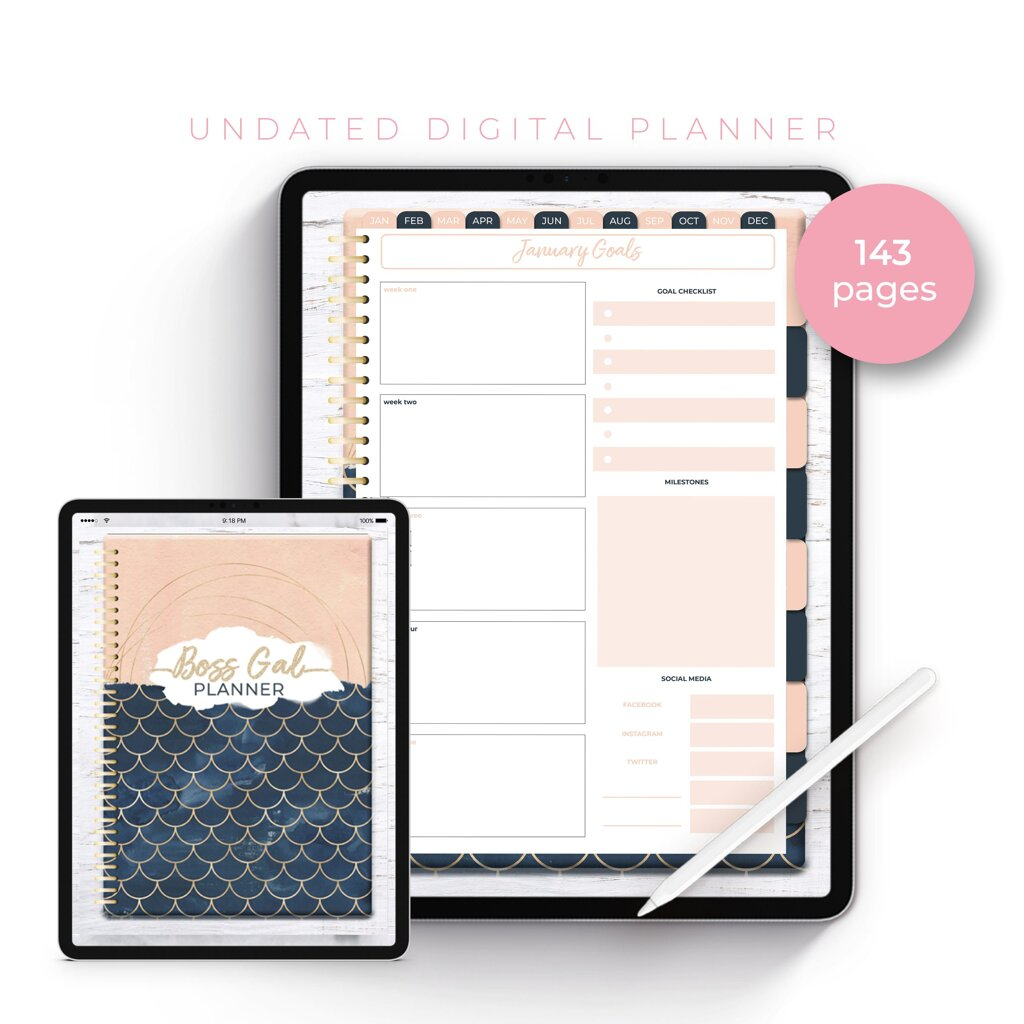 How to get started with Digital Planning | Digital Planning 101 Digital Planning 101: Getting Started for Beginners Worthy Gal